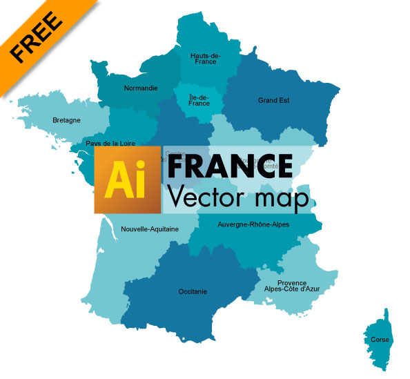 Free graphic vector map of france nouvelles rgions graphic free graphic vector map of france nouvelles rgions gumiabroncs Choice Image