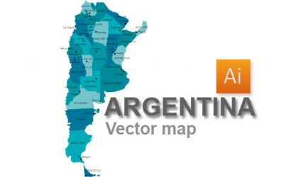 Free Argentina Vector Map