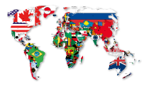 graphic-vector-World-Flag-map