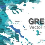 Free Greece Vector Map